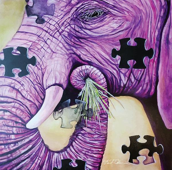Alzheimer's-Piece